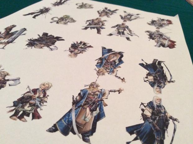 Printed standees