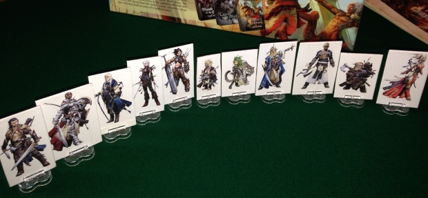 Pathfinder figures