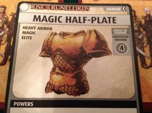 Magic Half-Plate