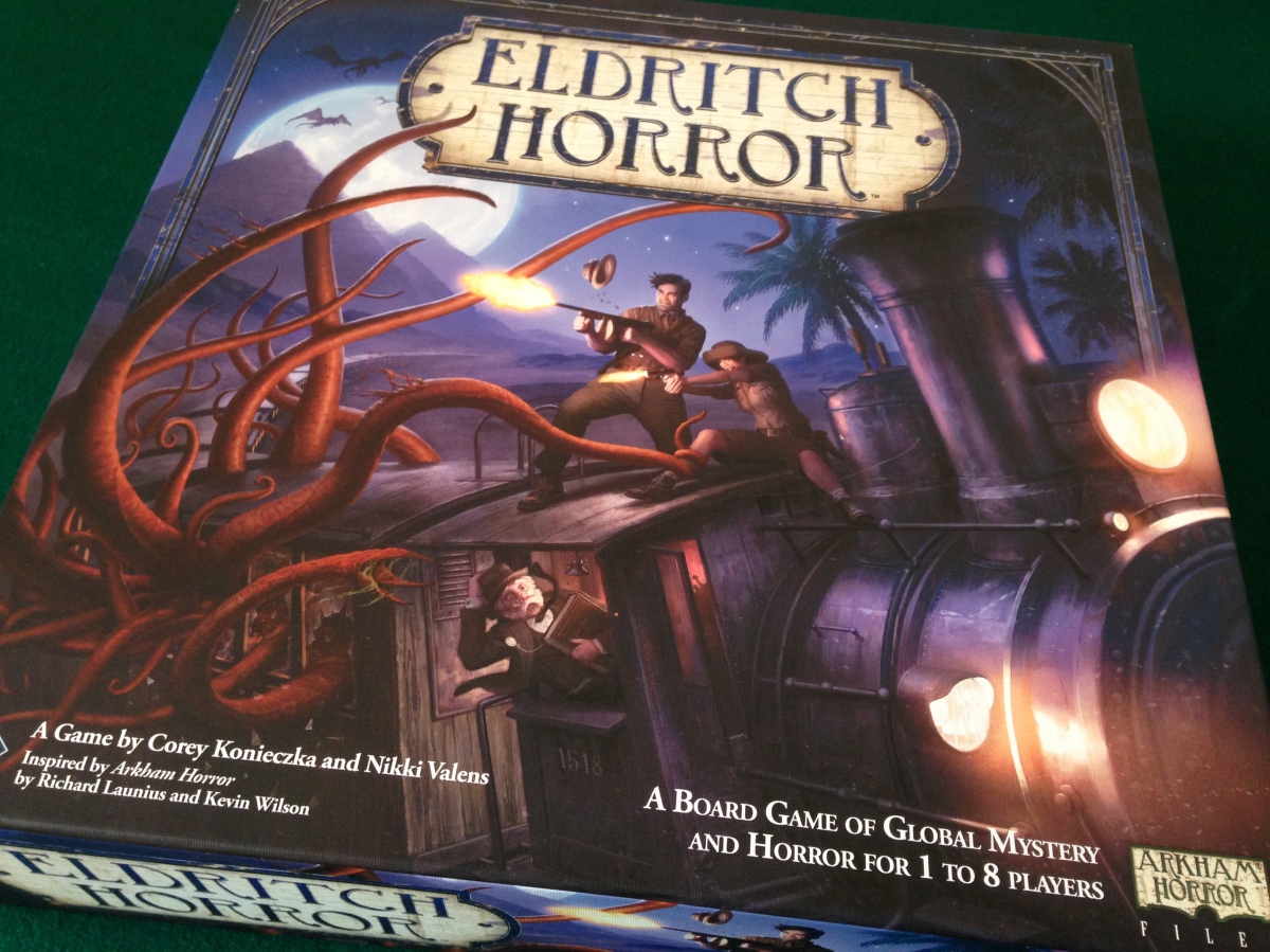 Eldritch Horror unboxing
