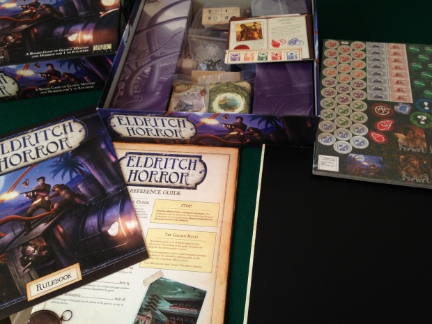 Eldritch Horror contents