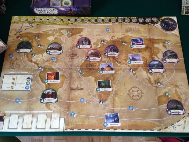 Eldritch Horror board