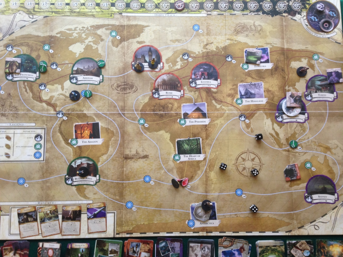 Against Azathoth: Our first play of Eldritch Horror