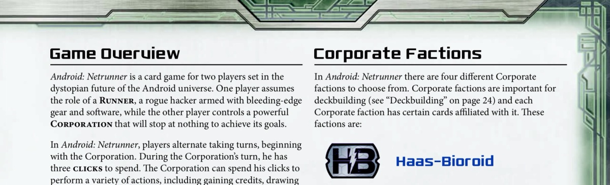 A handy reference for Android: Netrunner