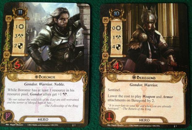 Boromir and Beregond