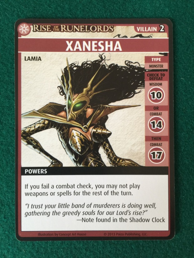 Xanesha is tough, but her special power is a killer.